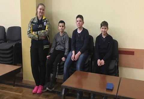 Каменчанка Вера Попруга стала призером кубка «Золотая шашка» Днепродзержинск
