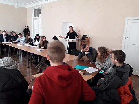 О Бюджете участия в Каменском рассказали студентам Днепродзержинск