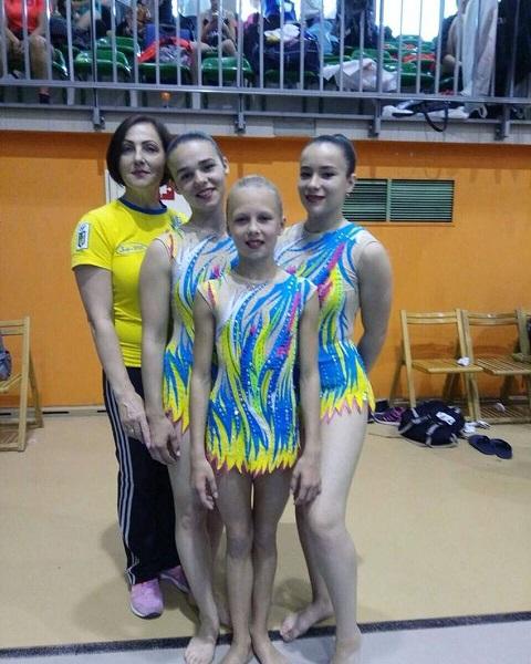 Турнир по акробатике в Польше принес «золото» победы спортсменкам из Каменского Днепродзержинск