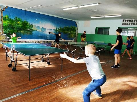 Теннисисты г. Каменское провели встречи на базе ДЮСШ №1 Днепродзержинск