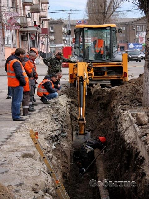 Утечка на газопроводе в г. Каменское устранена Днепродзержинск