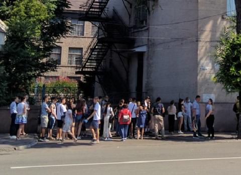 В г. Каменское проходили первое тестирование ВНО Днепродзержинск