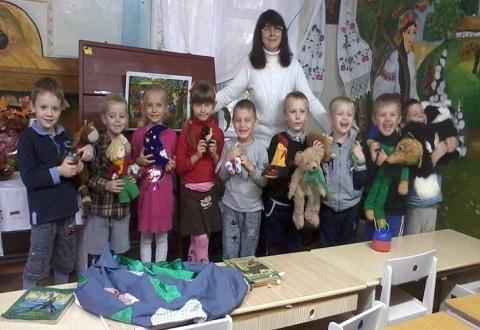 В Каменском воспитанников ДУЗ № 21 познакомили с поэзией Иосифа Курлата Днепродзержинск