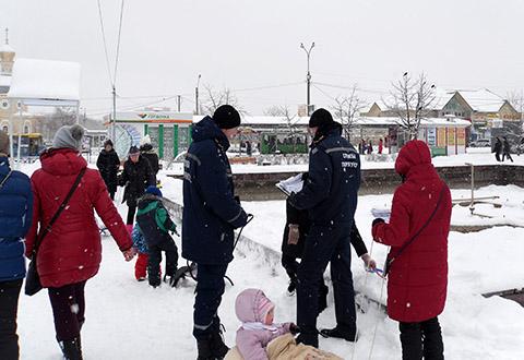 В Днепровском районе Каменского спасатели провели профилактическое мероприятие Днепродзержинск