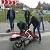 Мотоциклист стал участником ДТП в Каменском