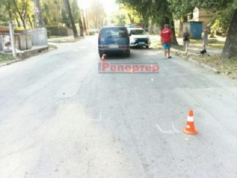 Возле музыкального училища в Каменском сбили подростка Днепродзержинск
