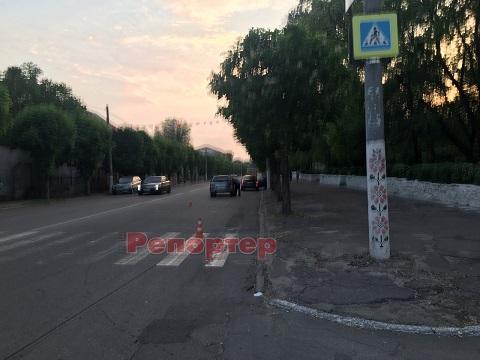 На пешеходном переходе в Каменском сбили подростка Днепродзержинск