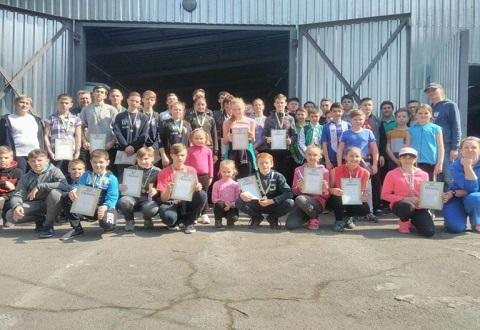 Гребцы-академисты провели соревнования на базе спортшколы Каменского Днепродзержинск