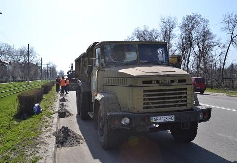 «Горводоканал» г. Каменское принимает активное участие в месячнике по благоустройству города Днепродзержинск