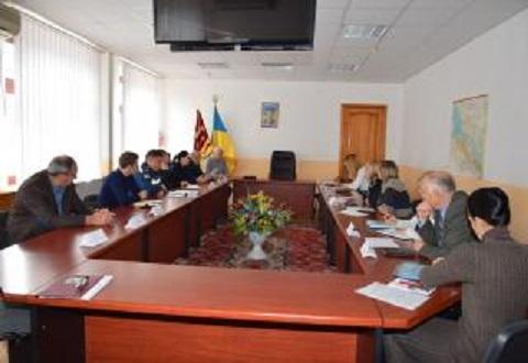 Внеочередное заседание провела комиссия Каменского по вопросам ТЭБ и ЧС Днепродзержинск
