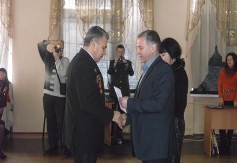 Каменчане почтили память воинов-афганцев Днепродзержинск
