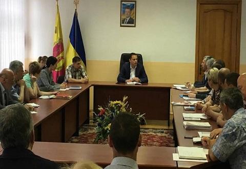 В Каменском заседал штаб по вопросам децентрализации отопительной системы Днепродзержинск