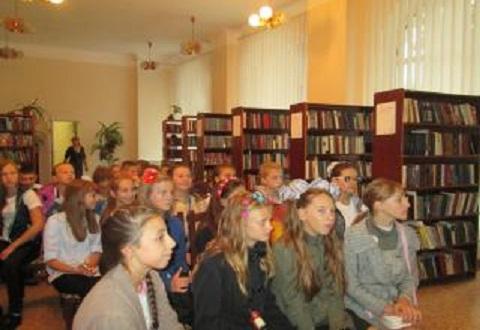 В ЦГБ Каменского прошел первый урок Днепродзержинск