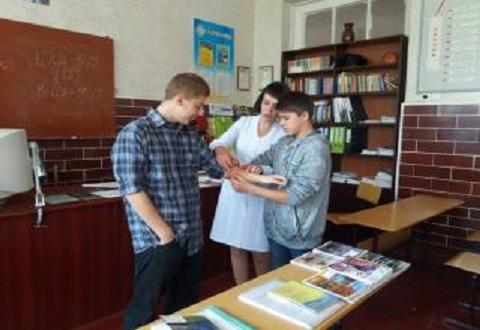 Подростков в Каменском обучали правилам оказания неотложной медпомощи Днепродзержинск