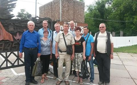 Бывшие работники пожарной охраны Каменского и ветераны почтили память погибших коллег Днепродзержинск