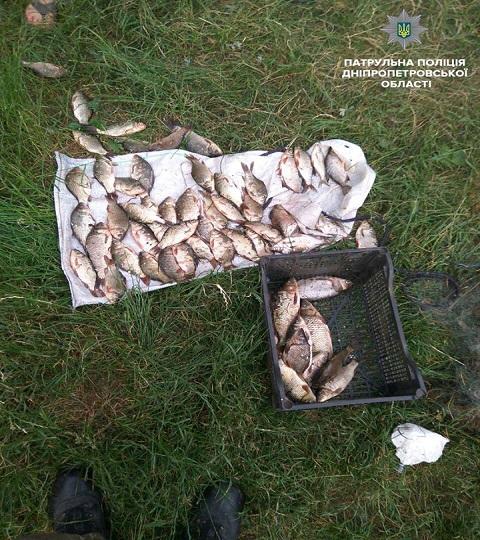 Водный патруль задержал на Каменском водохранилище браконьеров Днепродзержинск
