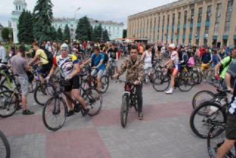 «Велодень» в г. Каменское пройдет в начале июня Днепродзержинск
