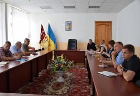 В Каменском провели заседание штаба по подготовке к зиме Днепродзержинск
