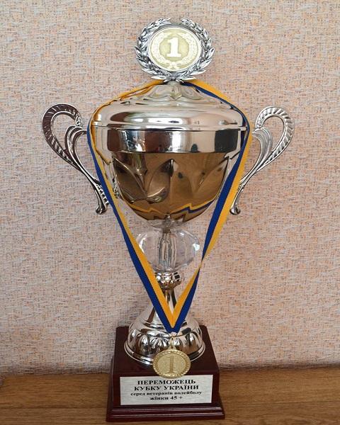 Команда волейболисток «Горводоканала» стала лучшей на Кубке Украины Днепродзержинск