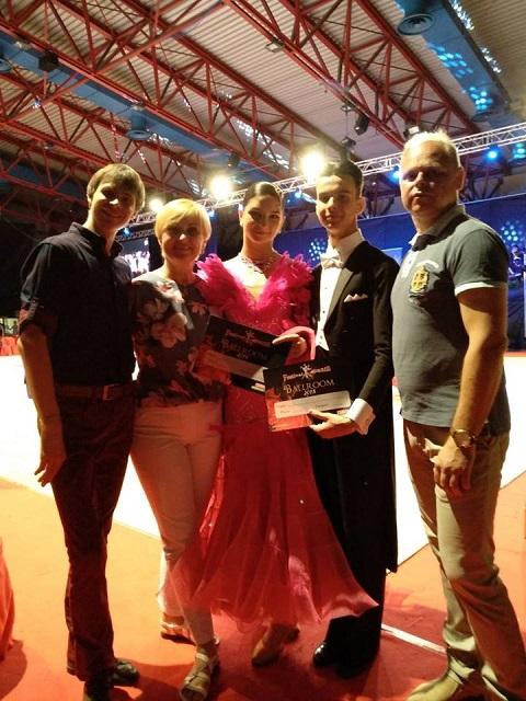 Танцоры из Каменского выступили на открытом чемпионате в Италии Днепродзержинск