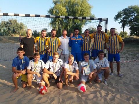 «Кубок Независимости» провели любители пляжного футбола г. Каменское Днепродзержинск