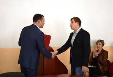 На заседании исполкома Каменского вручили награды Днепродзержинск