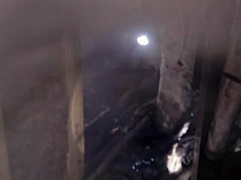 В г. Каменское спасатели  ликвидировали пожар в Заводском районе Днепродзержинск