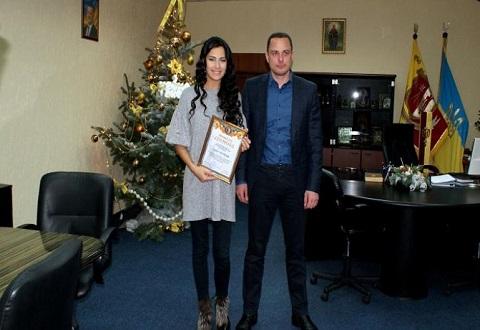 Лика Роман провела в Каменском встречу с молодежью, СМИ и мэром города Днепродзержинск