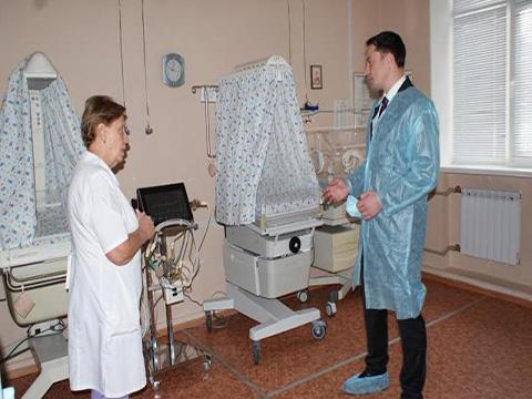 В роддоме Днепродзержинска ввели в эксплуатацию новое оборудование Днепродзержинск
