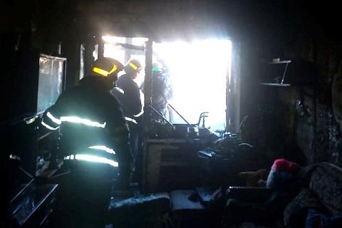 В Каменском ликвидировали пожар в многоэтажном жилом доме Днепродзержинск