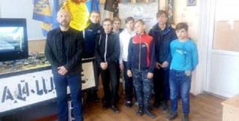 В школах города Каменское сотрудники Музея АТО проводят патриотические уроки Днепродзержинск
