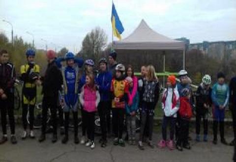 В Каменском прошли состязания по велокроссу Днепродзержинск