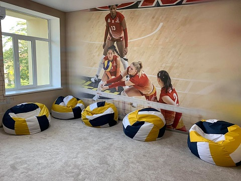 В Каменском завершают реконструкцию Академии «Прометей»  Днепродзержинск