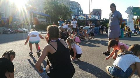 """В г. Каменское прошел пятничный """"Фитнес уикенд""""  Днепродзержинск"""