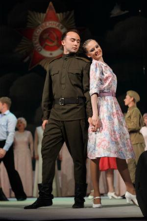 «Майский вальс» в театре им. Леси Украинки Днепродзержинск
