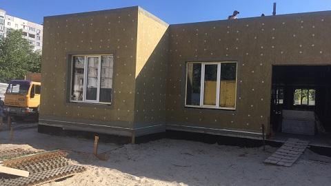 В Каменском продолжают строить малый групповой дом для детей-сирот  Днепродзержинск