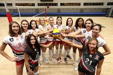 Волейбольная команда «Прометей» г. Каменское провела тренировку на тренажерах Днепродзержинск