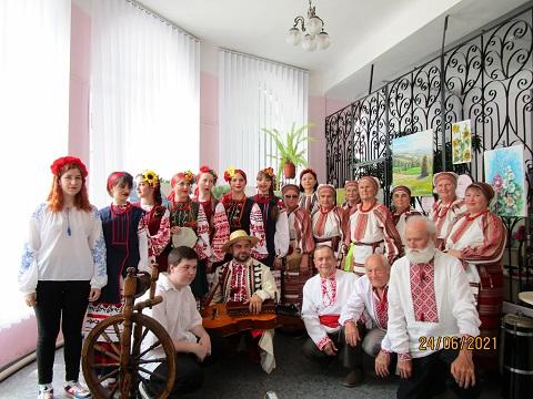 В г. Каменское прошла презентация нового сборника песен Днепродзержинск