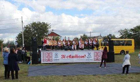 Под Каменским Елизаветовка праздновала День села Днепродзержинск