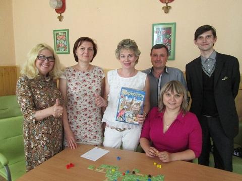 В библиотеке Каменского провели учебную игру для жителей левобережья Днепродзержинск