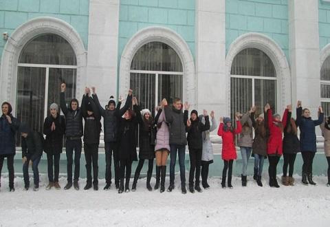 Библиотеки Каменского провели цикл мероприятий в День Соборности Украины Днепродзержинск