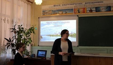 Каменчане говорили о проблеме сортировки мусора Днепродзержинск