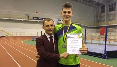 Каменской легкоатлет занял 2 место на чемпионате Украины Днепродзержинск