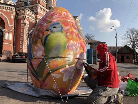 В Каменском создают экспонат для пасхального фестиваля Днепродзержинск