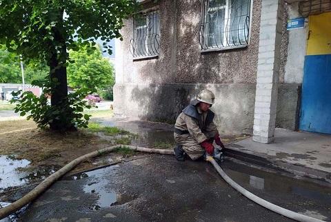 На пожаре в Каменском пострадали два человека Днепродзержинск