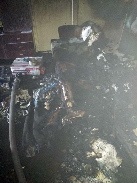В Каменском ликвидировали возгорание в жилой квартире по улице Мира Днепродзержинск