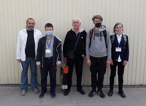 Юные жители Каменского стали призерами на фестивале робототехники Днепродзержинск