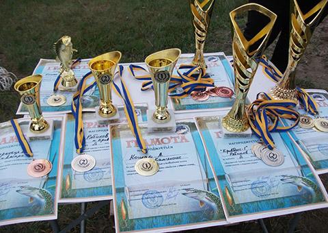 «Инваспорт» Каменского провел турнир по вылову хищной рыбы Днепродзержинск