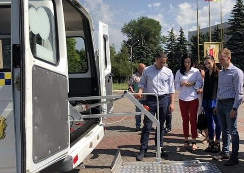 В Каменском работает «Социальное такси» Днепродзержинск