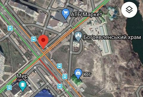 В Каменском на одном из перекрестков нарушена работа светового объекта  Днепродзержинск